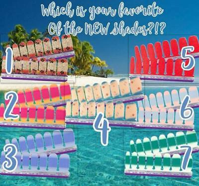 NIP Color Street 100% nail polish strips YOUR CHOICE OF SUMMER COLORS $10 each