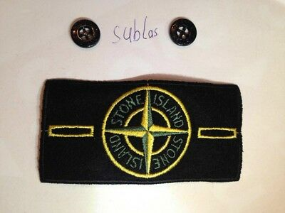 Stone Island Badge 1 + 2 Buttons