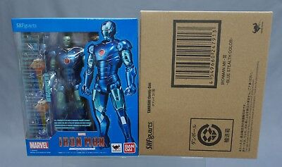 SH S.H. Figuarts Iron Man Mark 3 Blue Stealth Color Bandai Limited NEW (IN STOCK