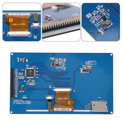 7 inch TFT LCD Blue Display Screen Module Board 800x480 For Arduino AVR STM32