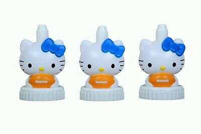 good2grow spill-proof bottle toppers 3-pack, Hello Kitty Football