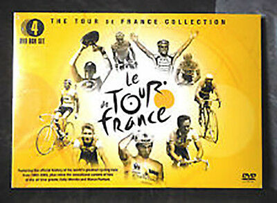 """LE TOUR de FRANCE"" DVD CICLISMO CYCLING WIELRENNEN OFFICIAL COLLECTION"