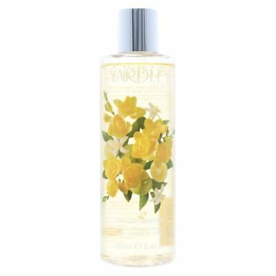 Yardley English Freesia Luxury Body Wash 250ml Women's New.