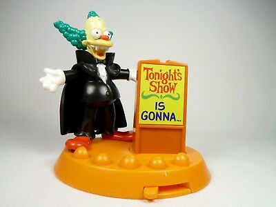 Burger King Simpsons Halloween Spooky Light Ups Krusty Dracula 2001