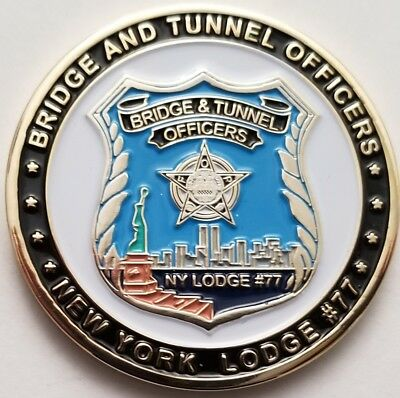 FOP Bridge & Tunnel Officers New York Lodge #77 Blue Lives Matter NY Police