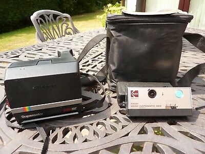 Vintage Polaroid Camera 635Se Complete With Instructions And Zip Top Carry Case