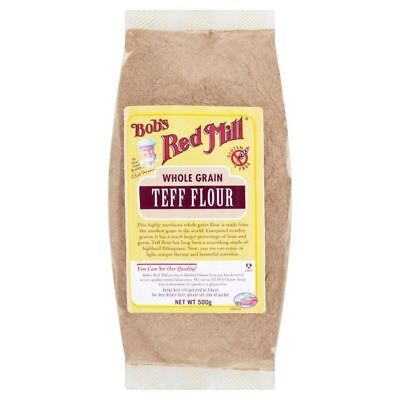 Bob's Red Mill Gluten Free Teff Flour 500g (Pack of 6)