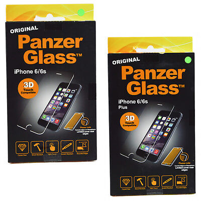 Genuine Panzer 3D Touch iPhone 6 Clear Glass Screen Protector For iPhone 6s Plus
