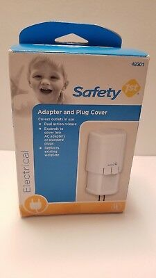 Brand New In Box Safety 1st Adapter and Plug Cover