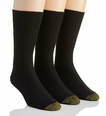 Gold Toe 633S Heritage Cotton Fluffies Crew Socks - 3 Pack
