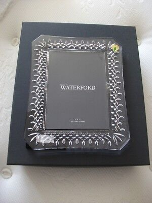 """Waterford Crystal Lismore Cut Picture Photo Frame 5"""" x 7"""""""