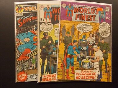 DC World's Finest Silver Age Lot # 192 193 198