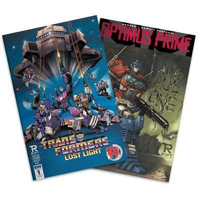 Transformers Comic Book Bundle - Issue 1 of Lost Light & Optimus Prime