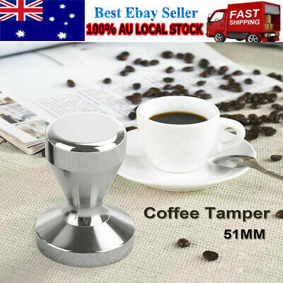 51mm Stainless Steel Coffee Tamper Tampa Tamp Espresso Barista Press Tool