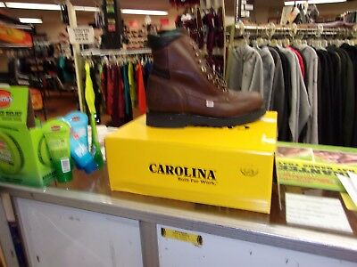 a2603e5f210 NIB MEN'S CAROLINA Boots 809 SIZE 11 1/2 3E EW MADE IN USA