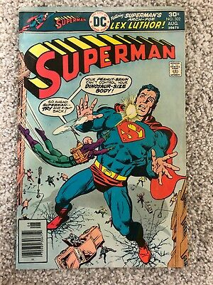Superman DC comics inc Comic Book #302 August 1976
