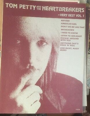 Tom Petty And The Heartbreakers-Very Best-Tab & Lyrics Vol.1