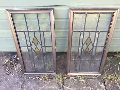 Leaded Stain Glass Windows