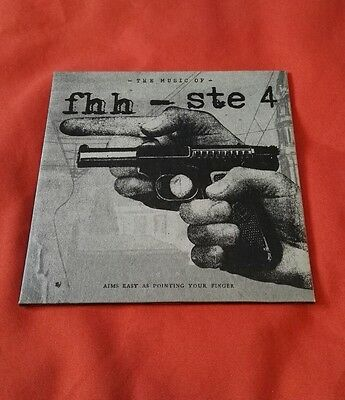 "Fifth Hour Hero / The Sainte Catherines ‎- The Music Of FHH - STE 4 / 7"" Vinyl"