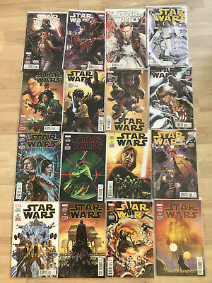 Marvel: Star Wars Complete Current Run 1-49