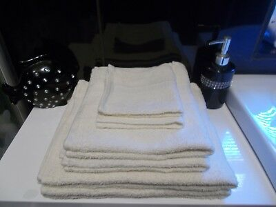 50 Luxury Turkish 100% Cotton Hand Towels 5 Colours to Chose From Free P&P