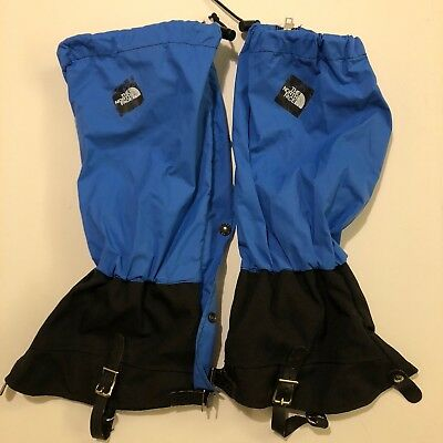 Vintage The North Face Gore-Tex Boot Covers Blue Size Tall