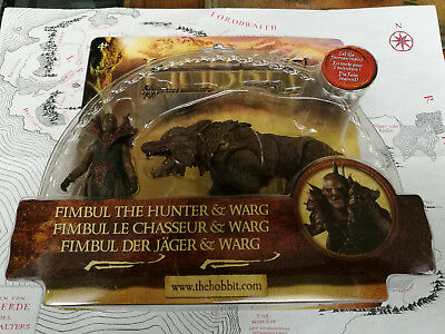 Herr der Ringe - Hobbit - Fimbul the Hunter & Warg - in OVP -  Tolkien