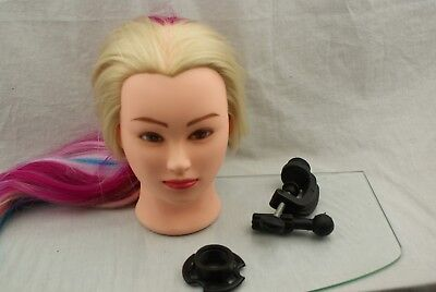 "HAIREALM 26""-28"" Mannequin Head Hair Styling Training Head Manikin 20Z29"