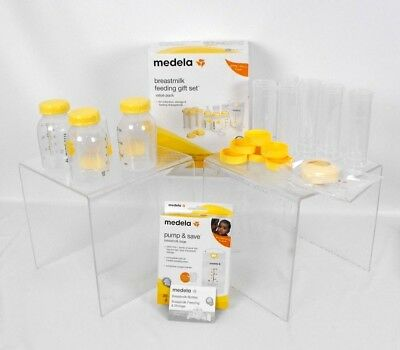 NEW Medela Breast milk Feeding Gift Set Value Pack Collection Storage Open Box
