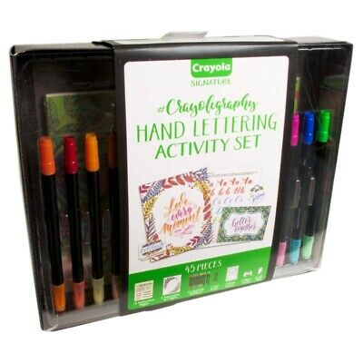 Crayoligraphy Activity Set Crayola Draw Art Craft Crafts Fun Learn Play
