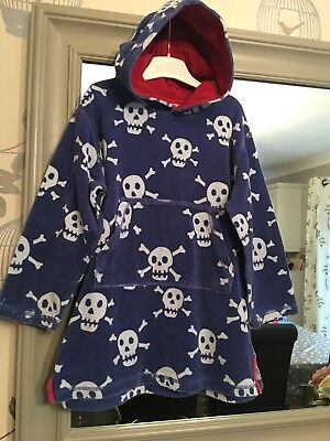 d8d24a6e24895 MINI BODEN TOWELLING Beach Throw-on Hoodie Age 5-6 - £4.20 | PicClick UK