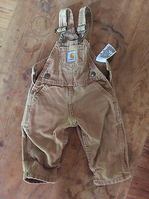Carhartt Overalls 6 Month Regular
