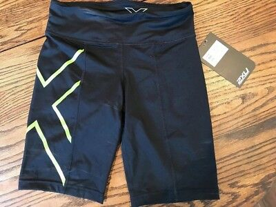 NWT 2XU Womens' Mid-rise Compression Short-small
