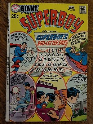 Superboy (1949) #165 - Very Good - Giant size