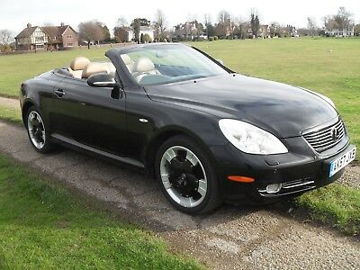 2007 Lexus SC 430 Automatic Convertible Fully Loaded Sat Nav ONLY 68500 MIles