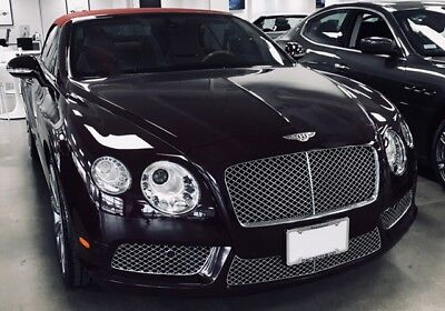 Bentley Continental V8 Gt Gtc Chrome Grills Complete Upper And Lower