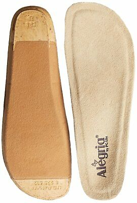 Alegria Shoes Classic Replacment Footbed Insole Tan  choose size