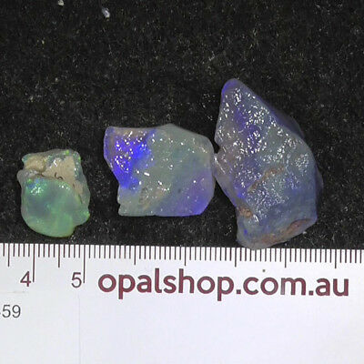 Gemstone Seam Opal Rough From Lightning Ridge - Ro459