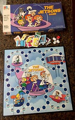 MB The Jetsons Game A race through space in search of the jetsons