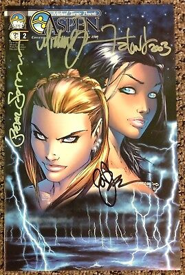 Aspen #2 Convention Exclusive Limited Edition of 1500 Signed by Michael Turner