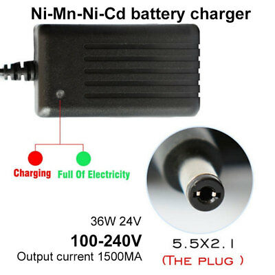 36W AC100-240V AC Adapter Scooter Charger Power Adapter Bike Charger 24V 1.5A