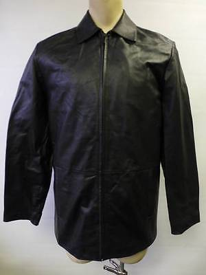 73d299d0a MENS WILSONS PELLE Studio Thinsulate blk LEATHER Jacket Coat Small zip out  liner