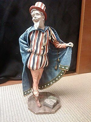 Uncle Sam by Duncan Royale in late 1980's and made in USA, Collectible Edition