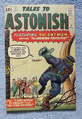 Tales to Astonish #37 Ant-Man Fine No Reserve