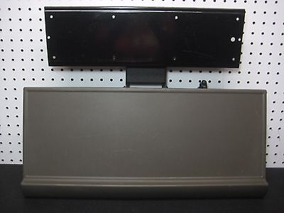 Keyboard Tray System Pull Out Arm with Mouse Tray Complete w/ Mounting Hardware