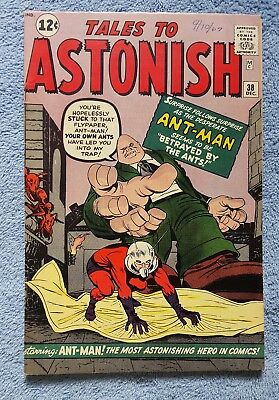 Tales to Astonish #38 Ant-Man Fine No Reserve