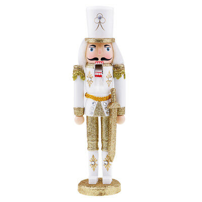 Nutcracker Puppets Creative Wood Christmas Ornaments Drawing Walnuts Soldier
