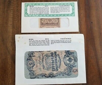 RUSSIA 5 Rubles, 1909, P-10, Imperial Government, World Currency