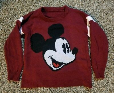mickey mouse sweater vintage