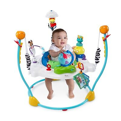Explore The World Baby Activity Center and Jumper 4 Position 360 Degree Seat